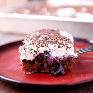 Black Forest Sheet Cake.