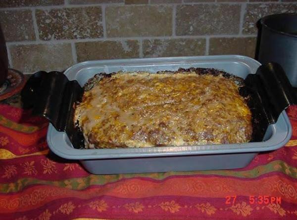 Ritzy Meat Loaf Recipe
