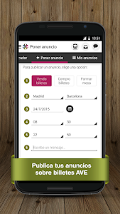 Billetes Tren Mesa AVE Renfe screenshot 5