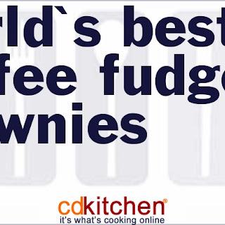 World's Best Coffee Fudge Brownies