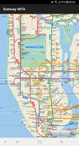 New York Subway Map Mobile.New York City Subway Map Mta By Mapdev Inc Google Play United