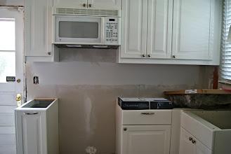 Photo: Kitchen before...