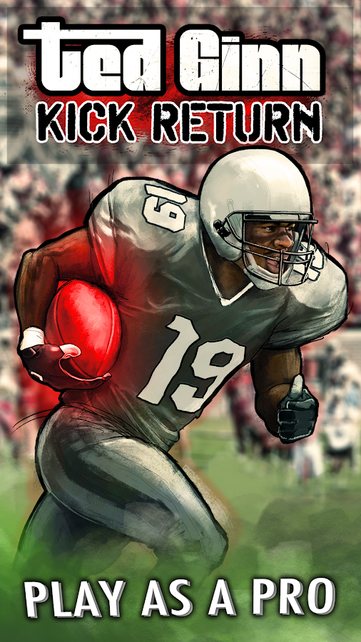 Ted Ginn: Kick Return Football- screenshot