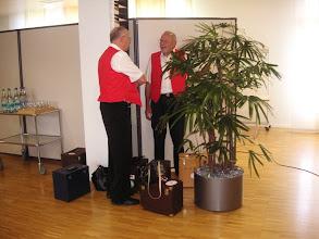 Photo: Peter Schaffner (l) und Emil Baschong