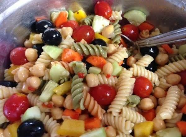 Twisty Italian Pasta Salad Recipe