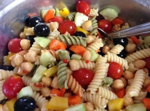 Twisty Italian Pasta Salad Recipe