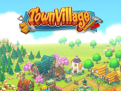 Town Village Farm, Build, Trade, Harvest City apk
