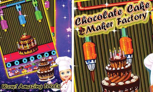 Chocolate Cake Factory – Dessert Cooking Game 1.0 Mod APK (Unlock All) 3