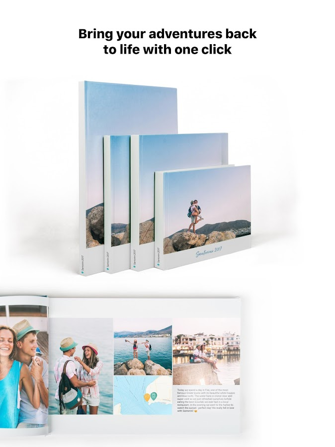 journi - Travel Journal + 1-Click Photo Book- screenshot