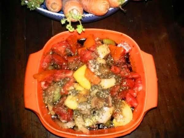Chunky Italian Countryside Marinated Vegetables Recipe