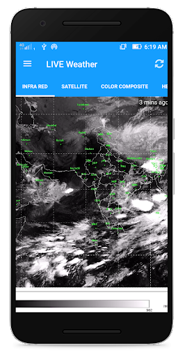 weather india: satellite live image screenshot 2