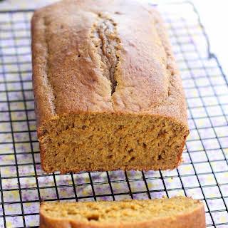 Low-fat Pumpkin bread.