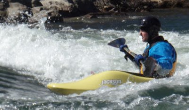 Photo: Unknown boater at Barking Dog Rapid.