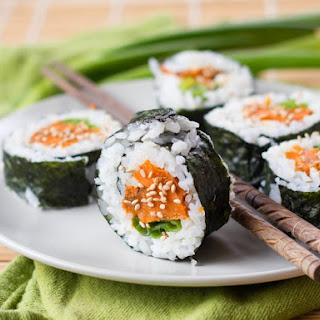 Vegan Roasted Sweet Potato Sushi
