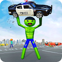 Stickman Incredible Monster Hero City Rampage icon