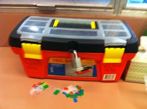 Photo: Medication box, orange