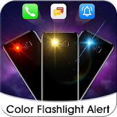 Tải Game Color Flash Light on Call & SMS