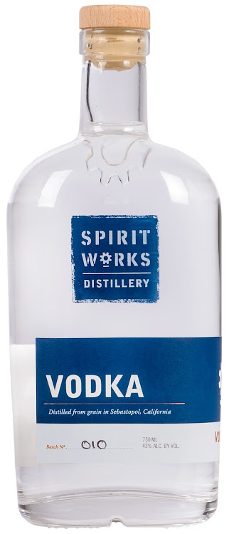 Logo for Spirit Works Distillery Vodka