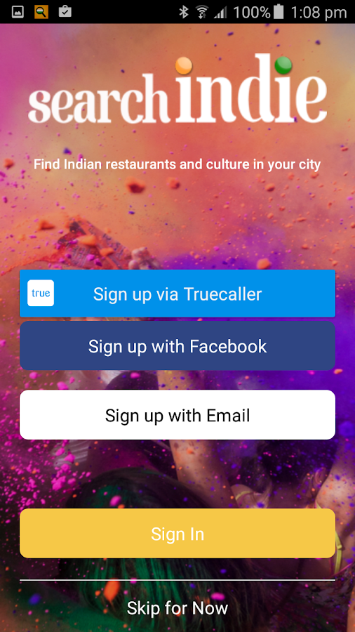 Search Indie - Discover India in Europe- screenshot