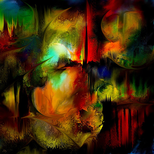 Heart of Antares by Glen Sande - Painting All Painting ( modern, abstract, heart of antares, abstract art, contemporary, conceptual, glen sande )