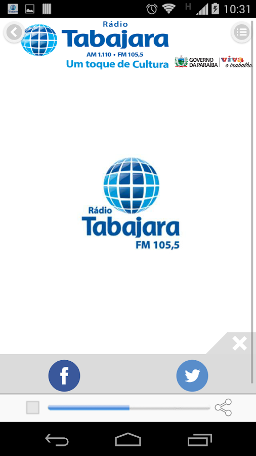 Rádio Tabajara- screenshot