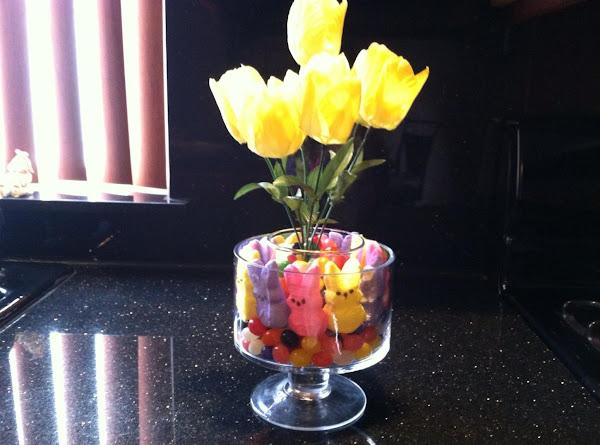 Easter  Jelly Bean Bunny Centerpiece Recipe