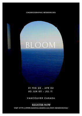 BLOOM:  choreographic residencies