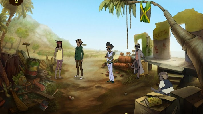 Bolt Riley, A Reggae Adventure- screenshot