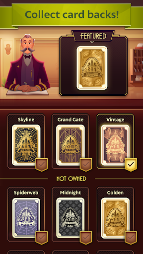 Grand Gin Rummy 2: The classic Gin Rummy Card Game apkpoly screenshots 7