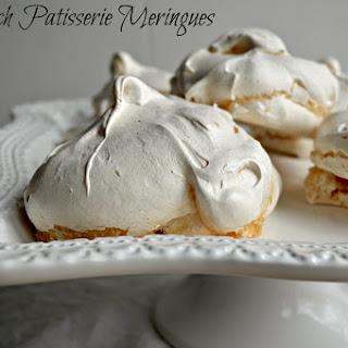 French Patisserie Meringues.