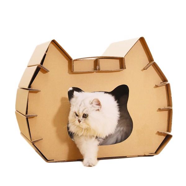 Cách làm giường chỗ ngủ cho mèo tiện nghi, rẻ, đẹp, bền (2020)