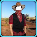 Cowboy Photo Montage icon