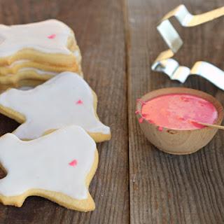 1 Dozen Cut-out Sugar Cookies.