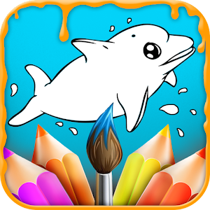 kids coloring painting book - Kids Painting Book