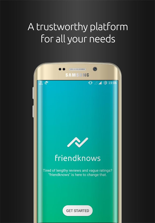 Screenshots of friendknows for iPhone
