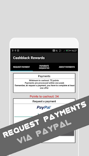 Cashblack Rewards App  - Earn free cash and gifts- screenshot thumbnail