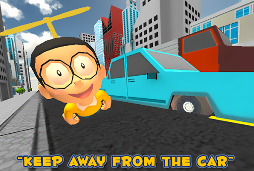 3D Nobita Kids Fly Surfers