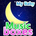 Mi bebé cajas de música icon