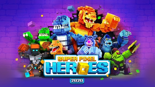 Super Pixel Heroes 2020 Apk + Mod (Coins) + Data Android 1