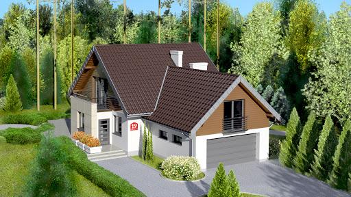 projekt Dom przy Cyprysowej 19