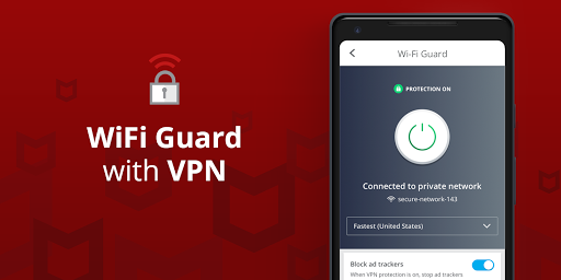 Mobile Security: VPN Proxy & Anti Theft Safe WiFi screenshot 3