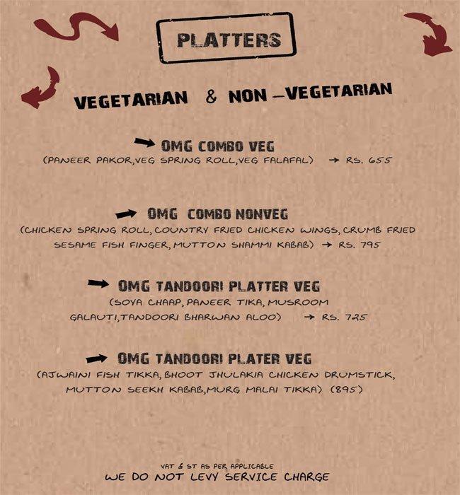 Oh My God-Cafe OMG menu 5