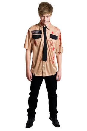 Polisskjorta, zombie