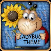 TSF Shell Theme Lucky Ladybug