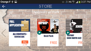 Screenshot of Hiphop Maker Lite