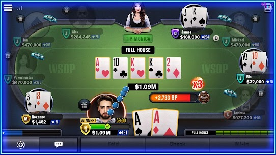 World Series of Poker – WSOP Free Texas Holdem 4