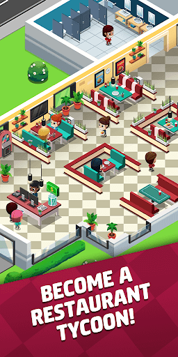 Idle Restaurant Tycoon - Build a restaurant empire 0.16.0 screenshots 1