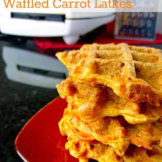 Waffled Carrot Latkes