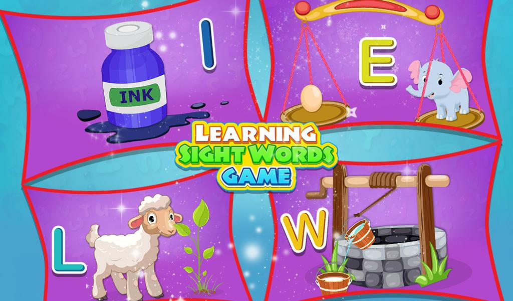 Learning Sight Words Game- screenshot