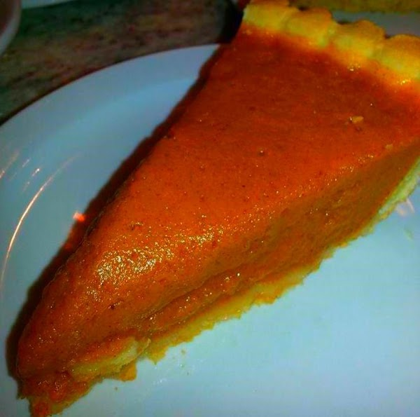Great Great Grandma Andrew's Carrot Pie Recipe